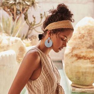 Kendra Scott Diane Matte Periwinkle Earrings